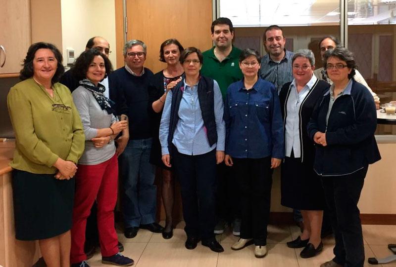 Equipo PJV Claretianas