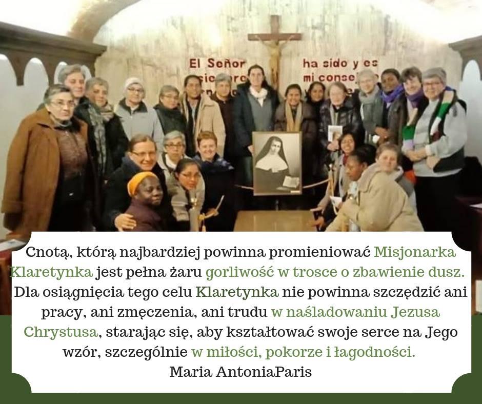 Maria Antonia Paris - narodziny dla nieba